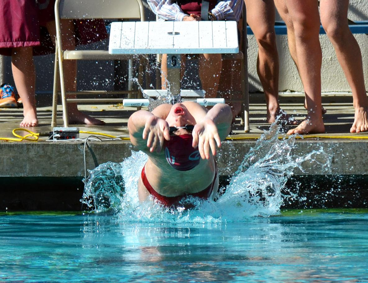 redlands swim meet
