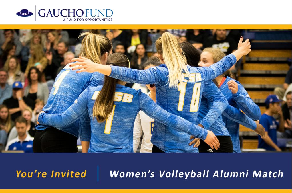 UCSB Women's Volleyball Alumni Match Set for Apr. 27 at Rob Gym