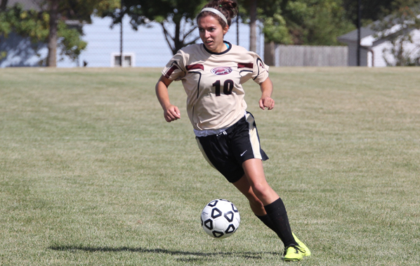 Record Setting Performance Puts Lady Eagle's Soccer in the Win Column