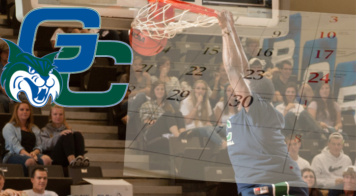 GC Men's Basketball to Host 11 Home Games in 2012-13
