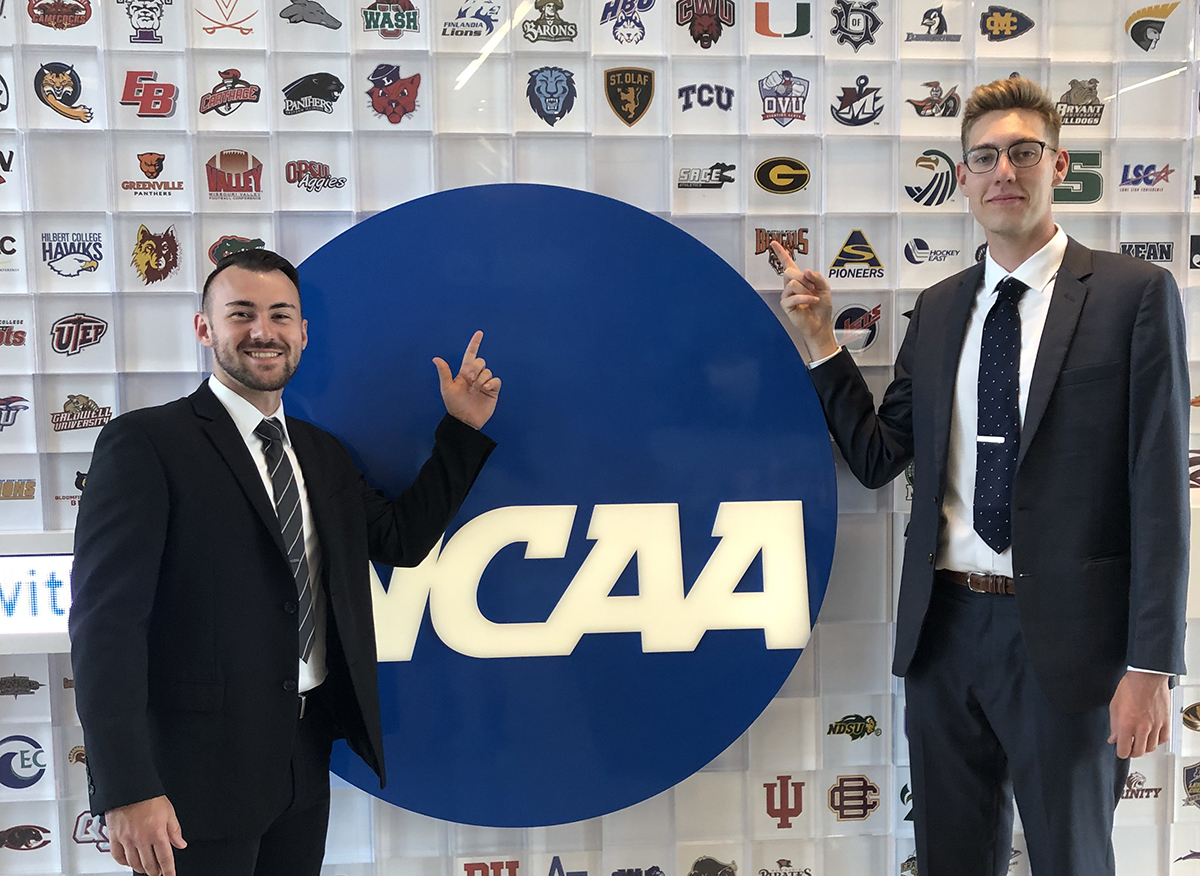A Q & A session with Sage's Tyler Schnaible who recently attended the NCAA Career in Sports Forum