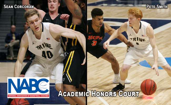 Smith, Corcoran Selected to NABC Academic Honors Court
