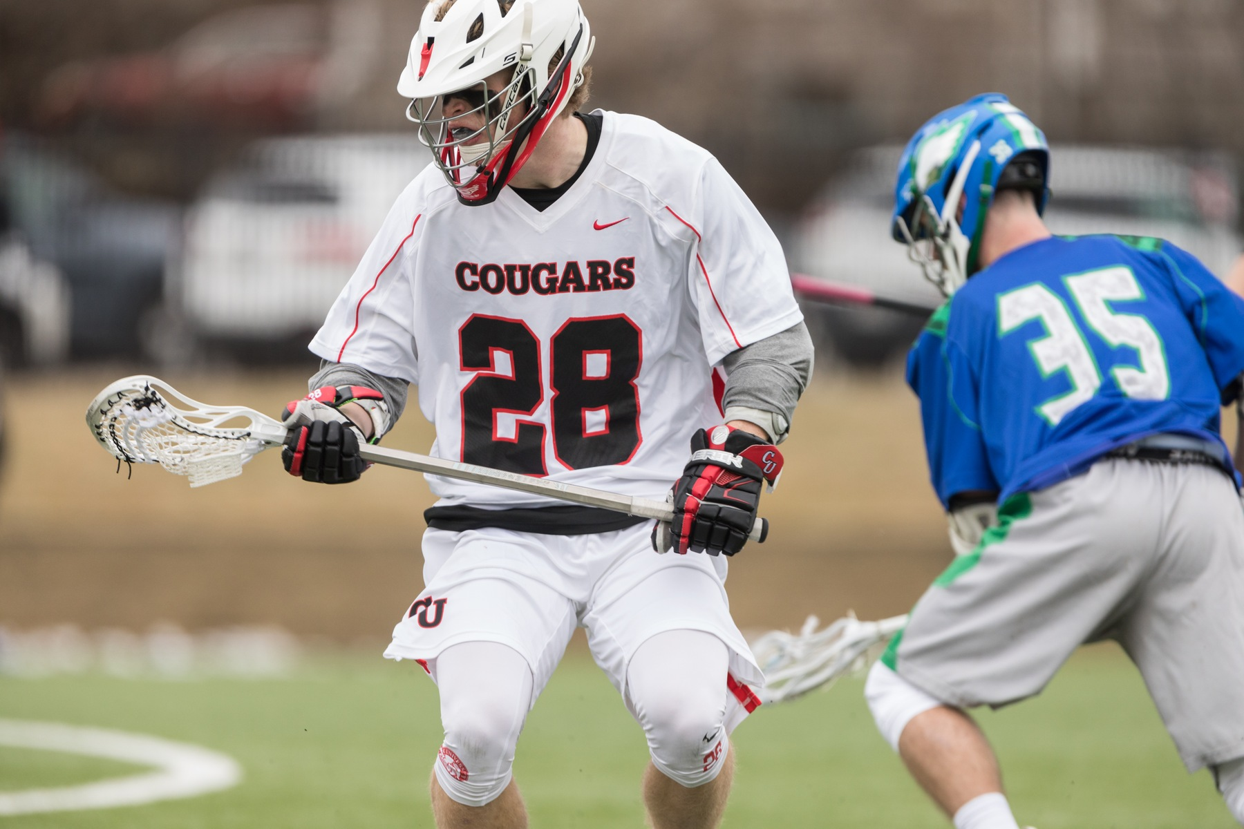 Bears Climb to Victory Over Men's Lacrosse