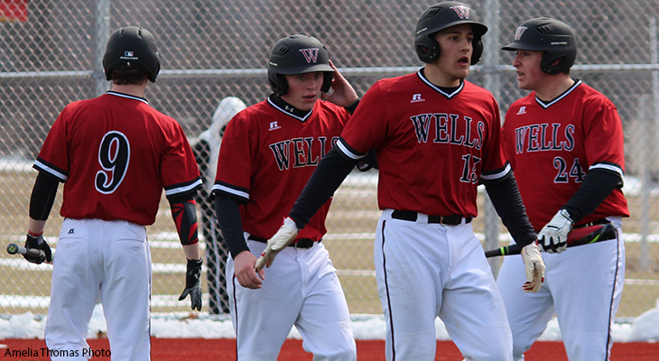 Canton Outlasts Wells In Baseball Home Opener