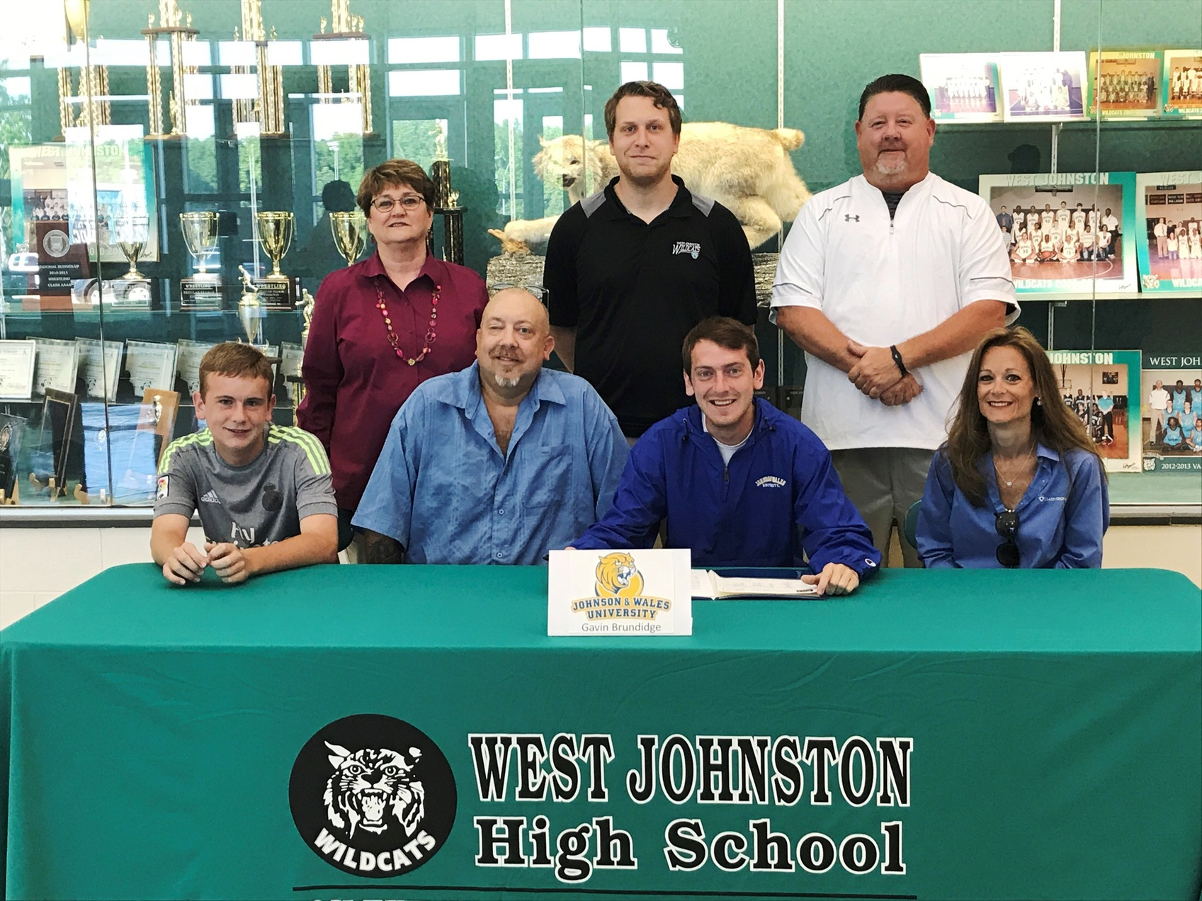 JWU Men's Soccer Signs West Johnston's Gavin Brundidge