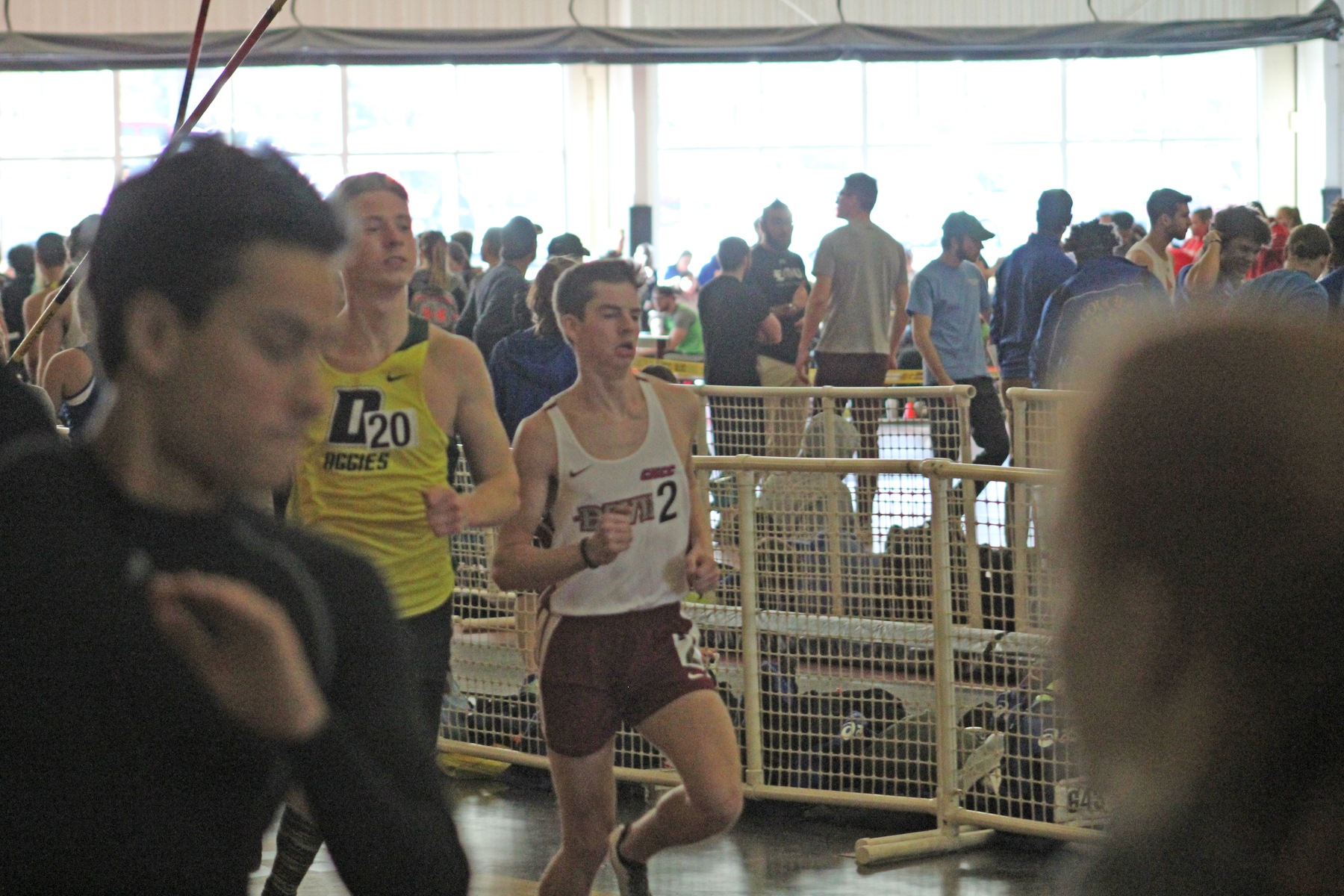 Hallinan Highlights Men's Track and Field's First Meet in Inaugural Season