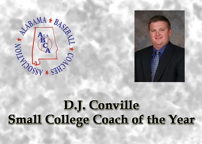 ABCA recognizes Conville as Small College Coach of the Year
