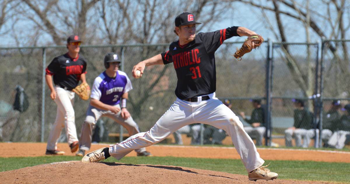 Catholic Splits Doubleheader with Juniata