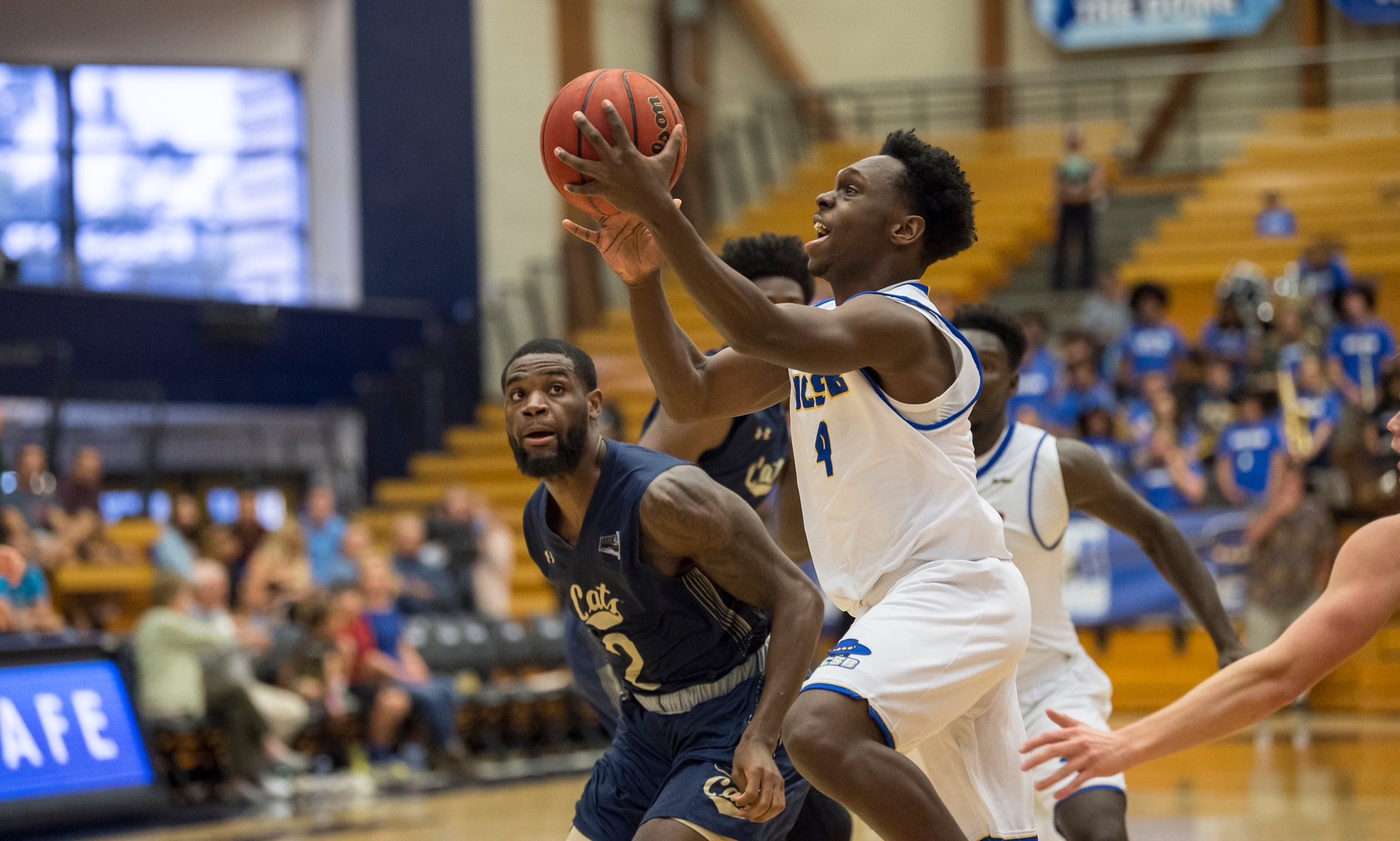 Gauchos Struggle in 2nd Half, Drop 55-52 Decision to Long Beach State