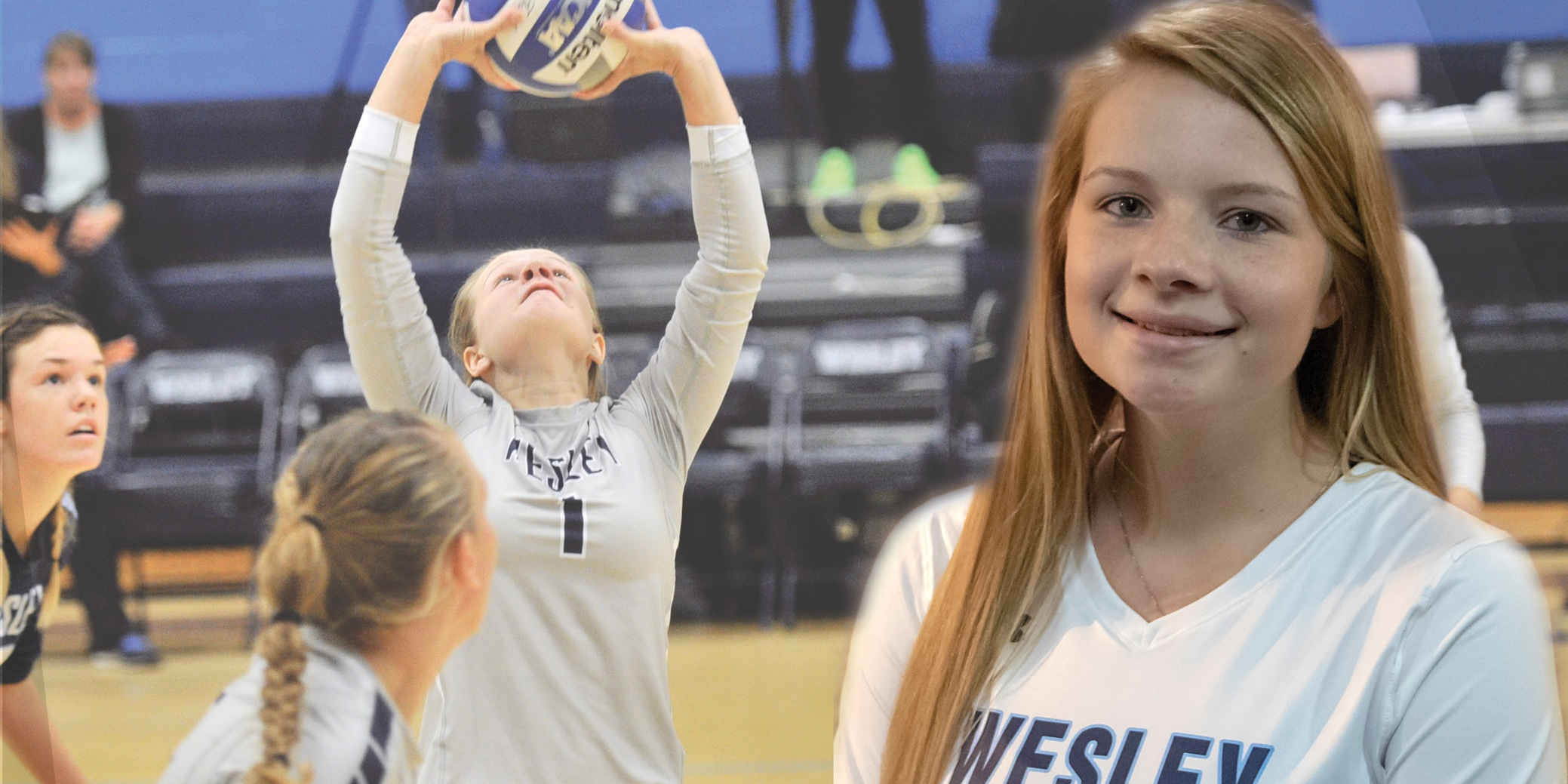 Burg becomes all-time assists leader in tri-match sweep over Immaculata, Trinity