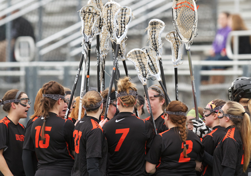 Women's Lacrosse Earns 1st Victory