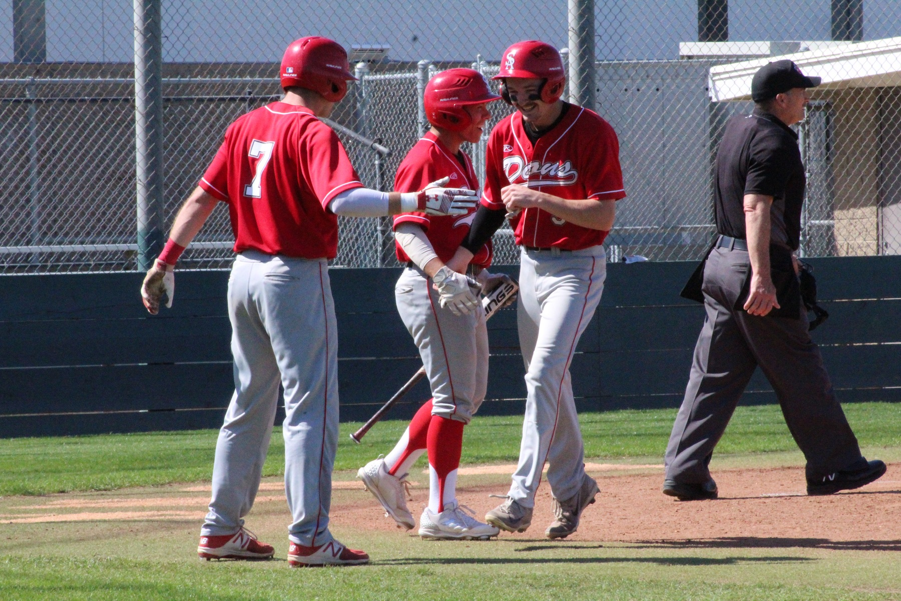 Dons Roll to 12-3 Win Over Golden West