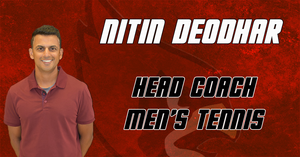 Deodhar Hired as New Head Men's Tennis Coach at Catholic