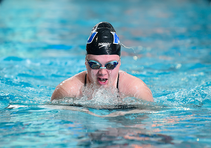 Women's swimming opens 2018-19 at St. Mary's