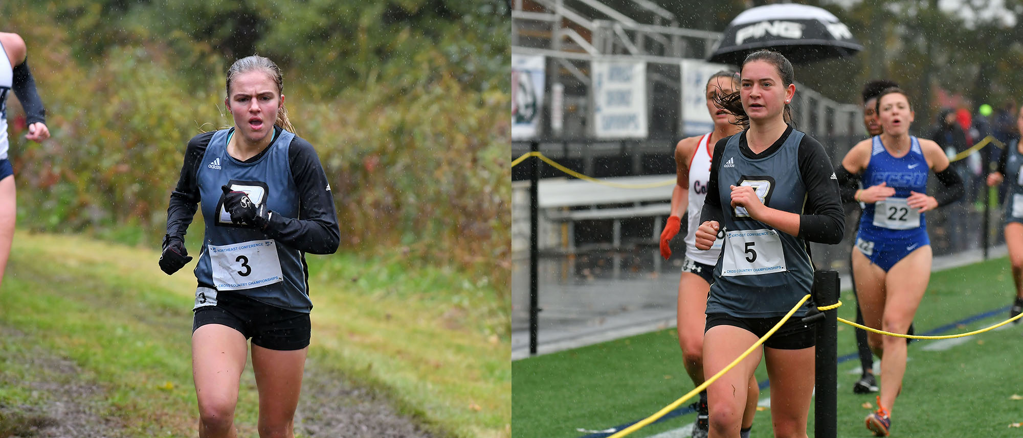 Ayres, Freeman earned NEC All-Rookie honors