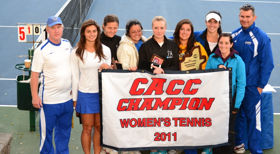 Concordia Wins Third Straight CACC Women's Tennis Championship after 5-2 Win over Goldey-Beacom