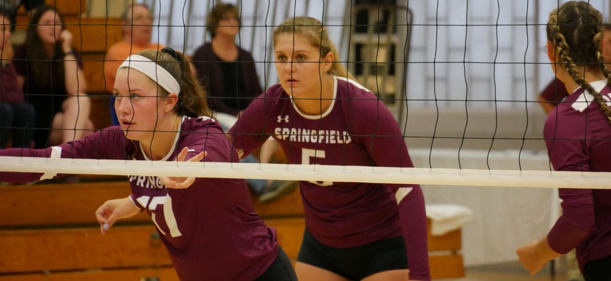 Women's Volleyball Sweeps Endicott and Lasell To Win MIT Invitational