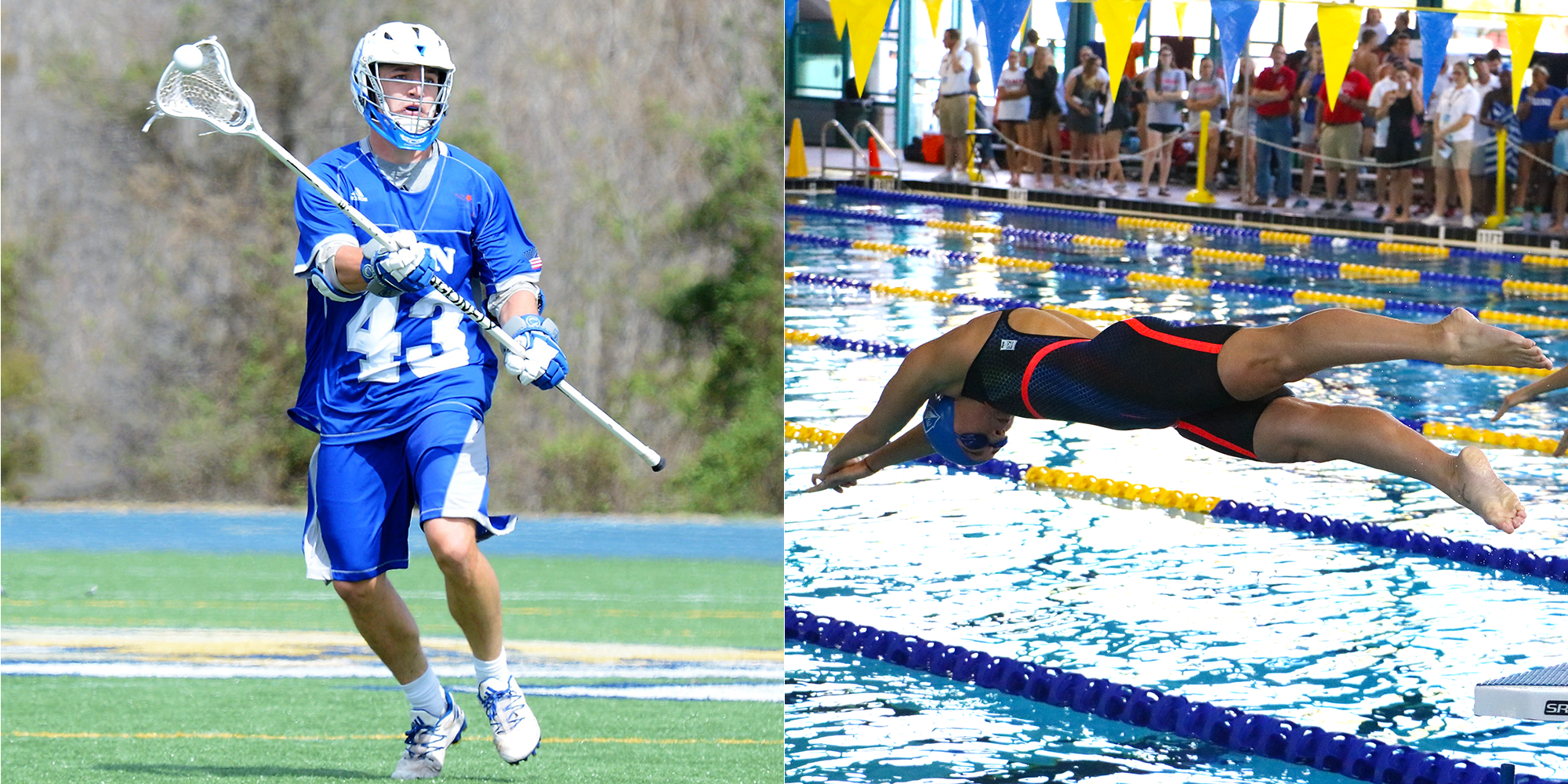 Bartusiak and Berraud-Galea Named Academic All-Americans