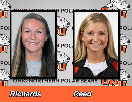 Reed and Richards lead Women's Outdoor Track & Field at Gregory Invitational