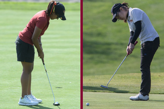 Reddy and Su close out second round at NCAA Women's Golf Championships