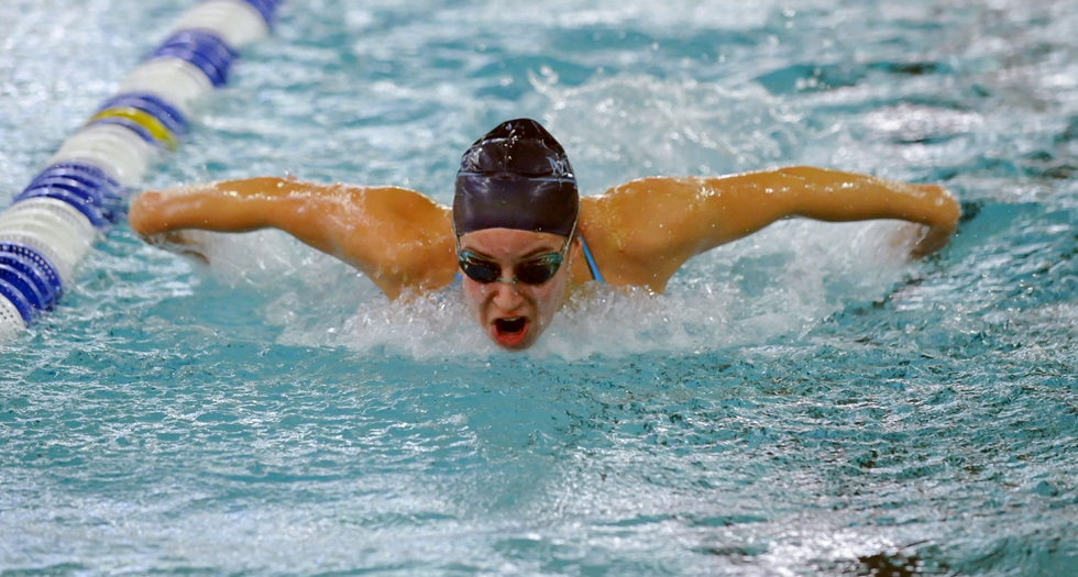 Swimming & Diving 3rd After Day 1 of Seven Sisters Championship