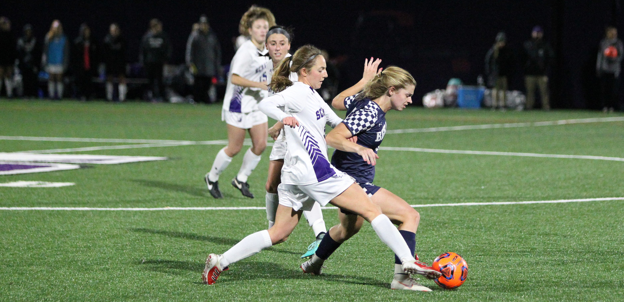 Freshman Steph Lowrey and the Royals couldn't solve PSU-Berks' defense on Tuesday night.