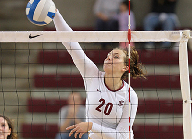 Volleyball Defeats Rival Cal Poly in 4; Plays No. 24 Michigan Saturday Morning