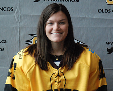 Chelsea Braodhead, Olds College, Women's Hockey