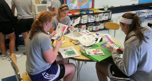 Soccer continues to make difference as volunteers at Parkview Elementary