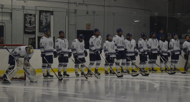Men's Ice Hockey Loses 2-1 to Wentworth