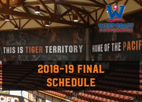 Broadcasts, Times Finalized for 2018-19 Pacific Men's Basketball Season