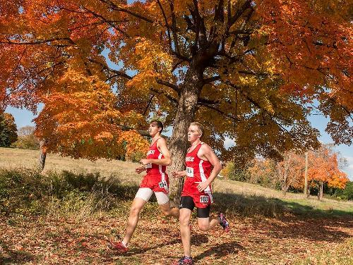 CUA  Men's Cross Country Team Takes Second at Bison Invite