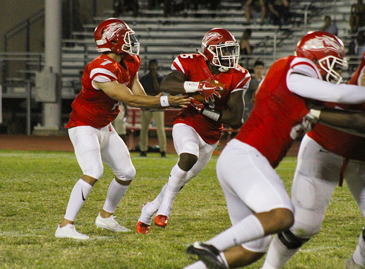 Glendale Spoils Mesa Homecoming, 35-24