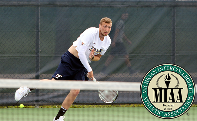 Weiss Named MIAA Athlete of the Week