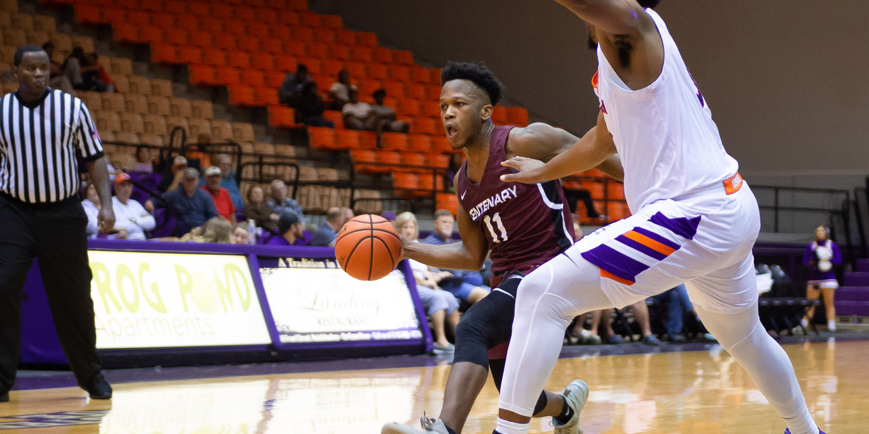 Late First Half Run Sinks Gents Basketball at Arkansas-Monticello