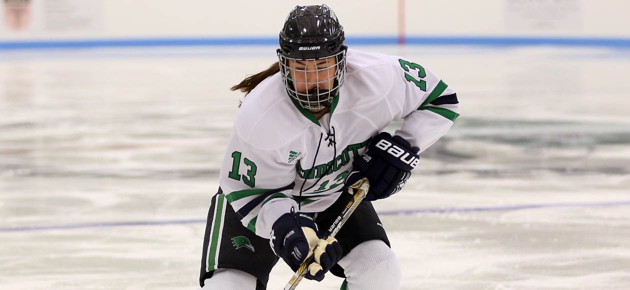 Women's Ice Hockey Claims 4-1 Victory Over SUNY Canton