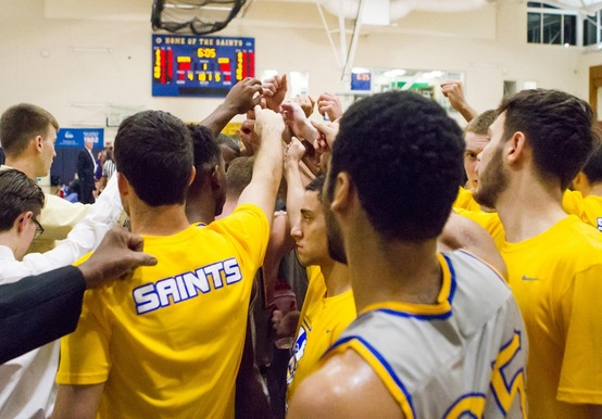 TEAM EFFORT SNAPS SKID AND LIFTS MEN'S HOOPS OVER JWU, 73-66