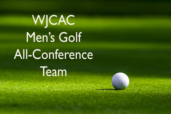 2019 WJCAC Men's Golf All-Conference team