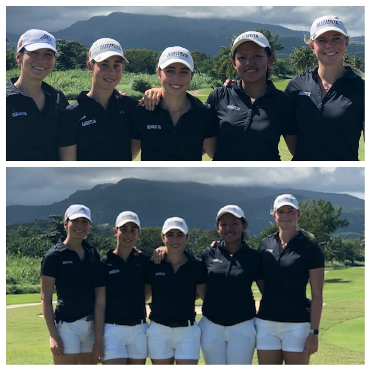 Augusta T10 After Two Rounds At Lady Puerto Rico Classic
