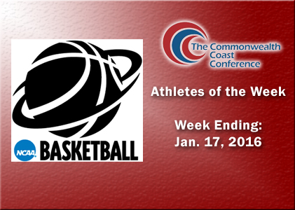 Irwin Named as CCC Rookie of the Week