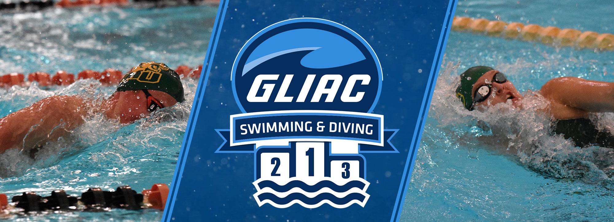 Northern Michigan's Helm, Reinhold Sweep GLIAC Swimming Athlete of the Week Honors