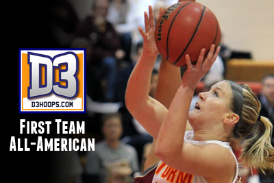 Nielsen named D3hoops.com First Team All-American