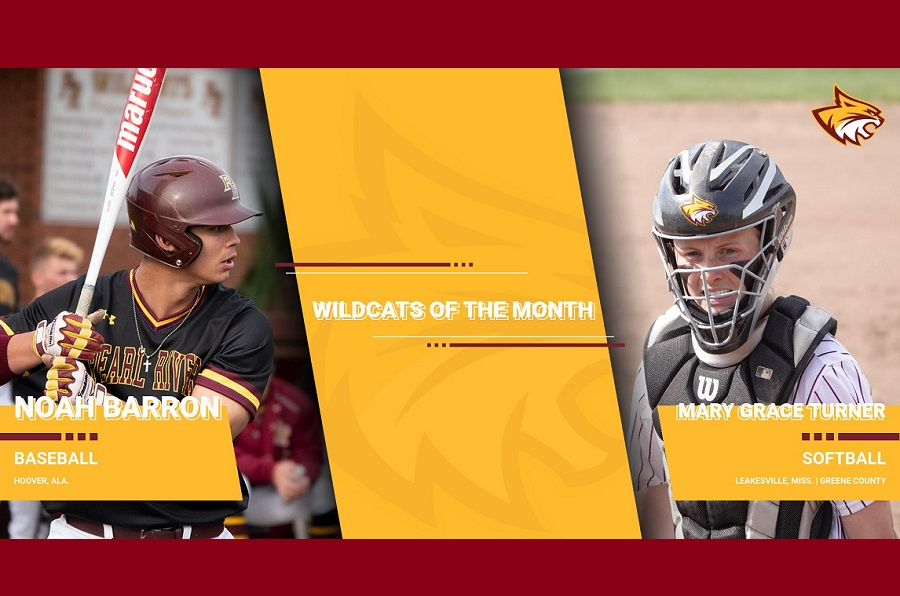 Mary Grace Turner, Noah Barron named Wildcats of the Month