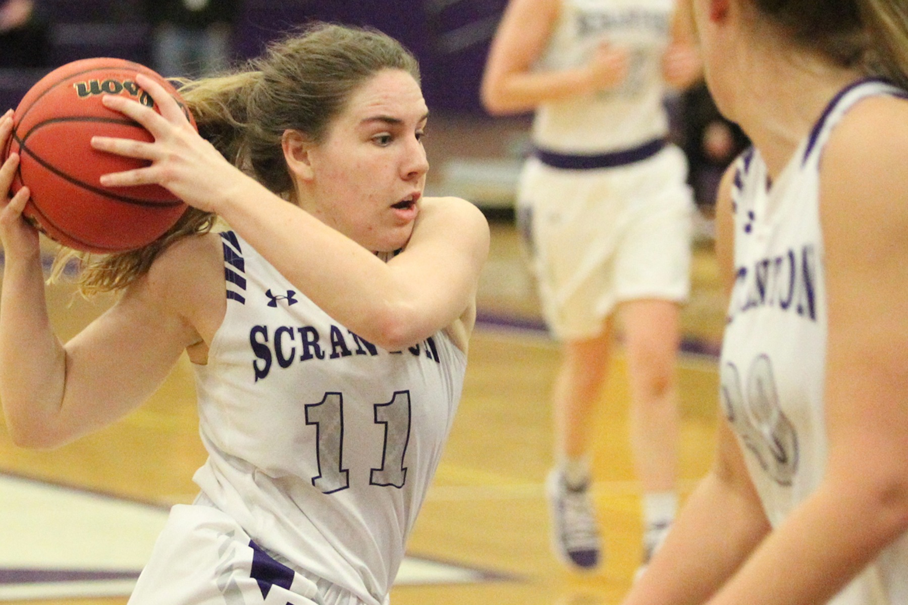 Four Score in Double-Figures, as Lady Royals Sail Past New England College in NCAA First Round
