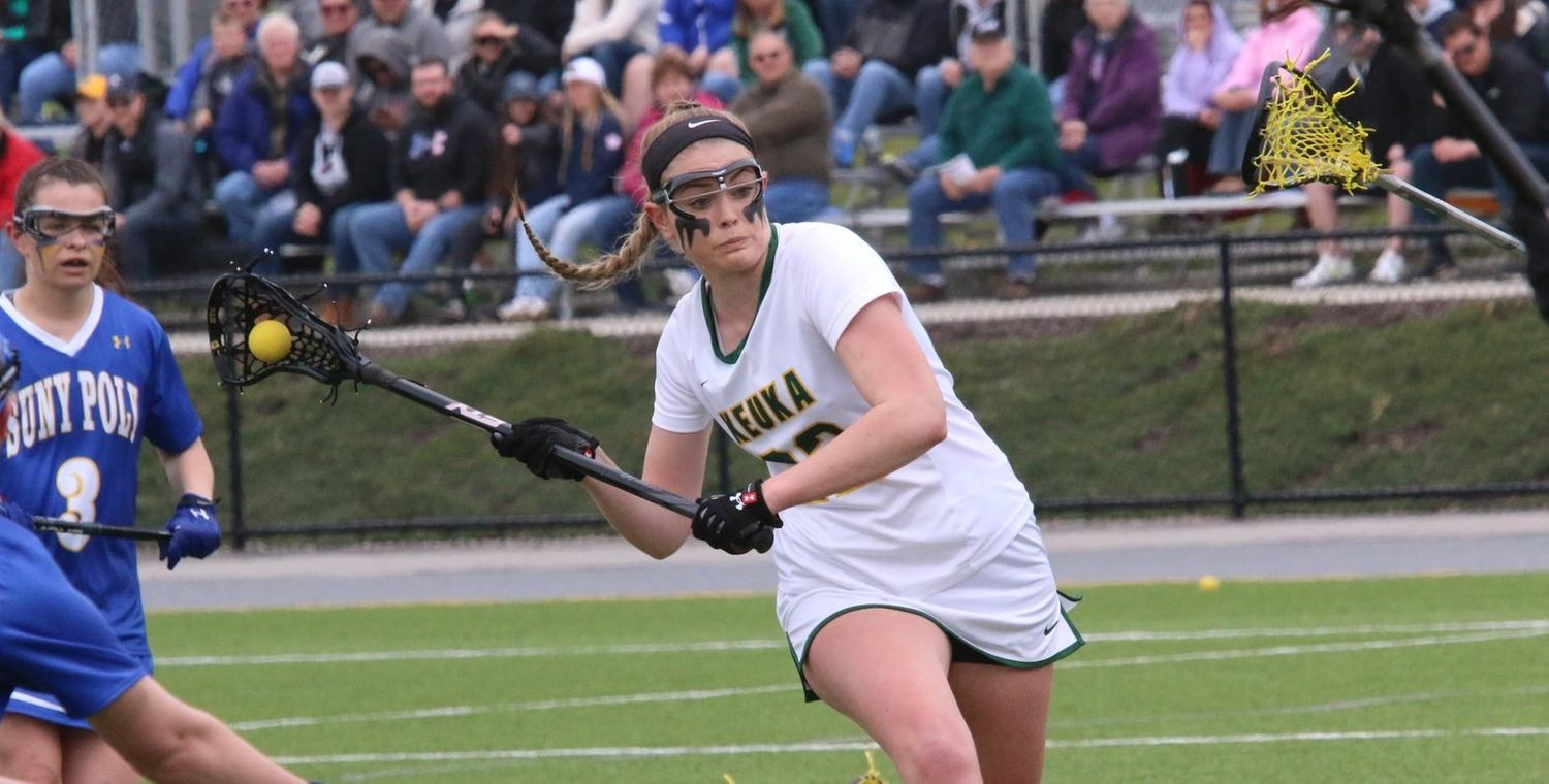Kendall Neuberger (22) moved to 2nd on the career points list with 239