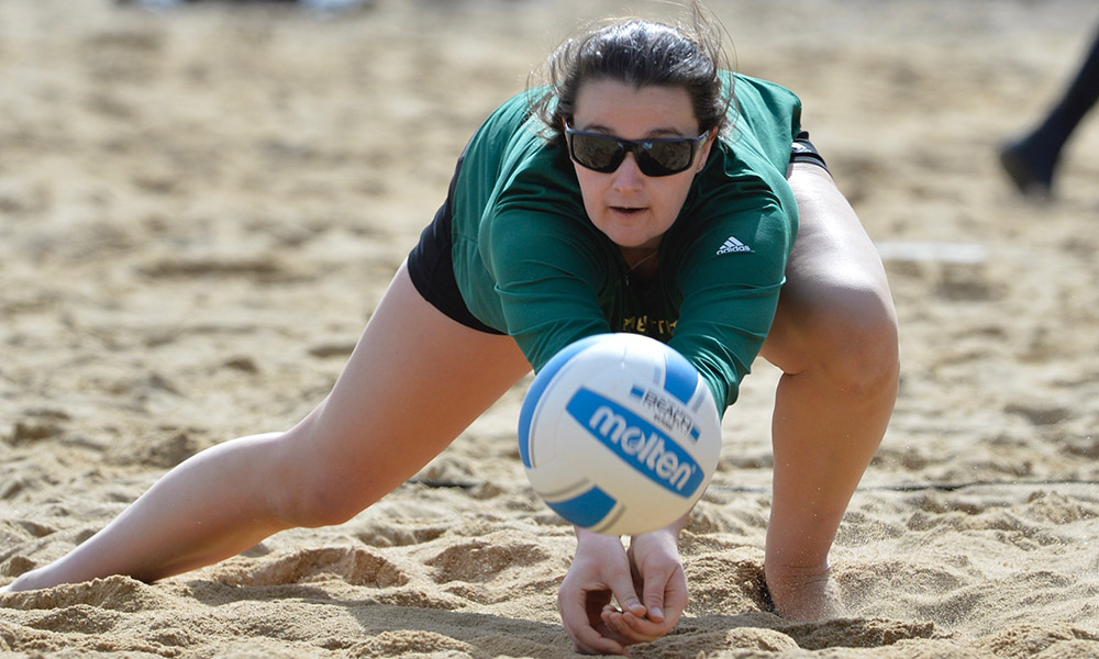 BEACH VOLLEYBALL SEASON COMES TO A CLOSE WITH A PAIR OF LOSSES IN BIG WEST TOURNAMENT