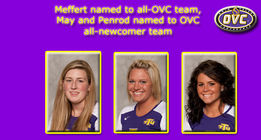 Trio of Golden Eagles tabbed for OVC volleyball honors