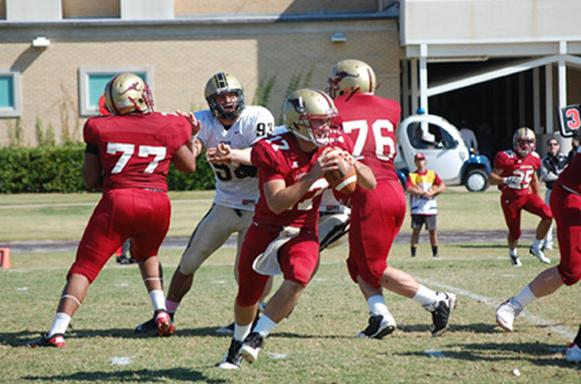 Colonels Spoil Homecoming for 'Roo Football