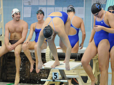 CCSU Swim and Dive Finishes Day One of ECACs in 7th