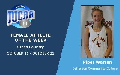 Piper Warren-Region III Athlete of the Week